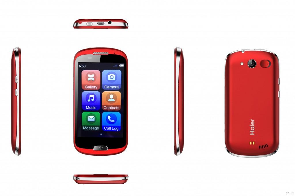 Haier, un smartphone pour seniors