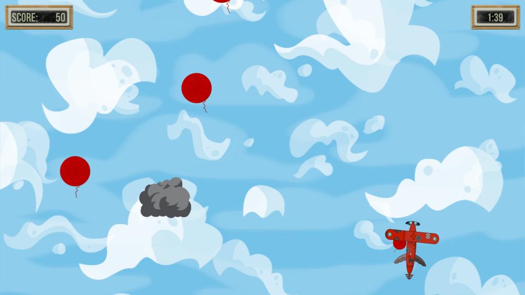 Exemple d'écran du jeux MediMoov