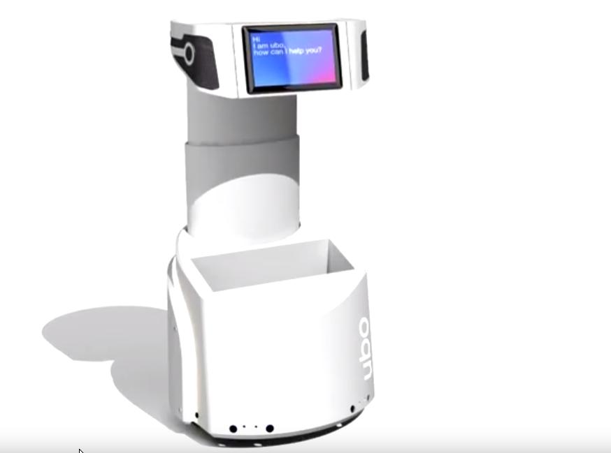 Ubo, Robot domestique d'assistance aux personnes âgées ou dépendantes