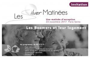 Silver Matinée : Boomers et Innovations du logement @ Péniche Le Signac | Paris | Île-de-France | France
