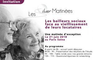Silver Matinée - Les bailleurs sociaux face au vieillissement de leurs locataires @ Péniche le Signac | Paris | Île-de-France | France