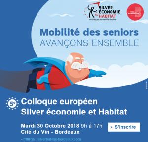 Colloque européen Silver économie et Habitat @ Cité du Vin - Bordeaux | Bordeaux | Nouvelle-Aquitaine | France