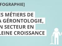 Les métiers de la gérontologie [infographie]