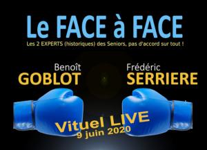 Le Face à Face - Goblot / Serrière @ En visio conference