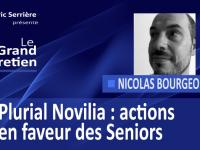 Nicolas Bourgeois : Plurial Novilia, exemples d'actions en faveur des Seniors.