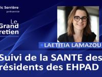 Laetitia Lamazou : Suivi de la santé des résidents en Ehpad