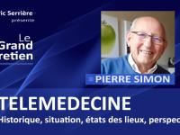 Pierre Simon : TELEMEDECINE, historique, situations, état des lieux, perspective