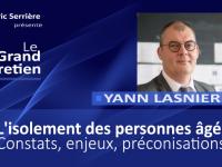 Yann Lasnier : l'isolement des personnes âgées